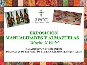 Exposición de almazuelas de la AECC en La Rioja