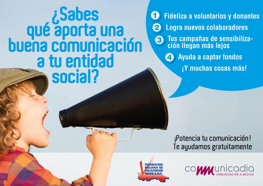 desarrollo comunicacion ONG convenio FRVS Communicadia