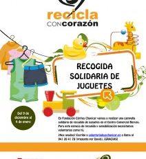 Fundación Cáritas Chavicar necesita voluntarios para recogida de juguetes