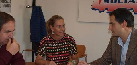 El concejal de Voluntariado del Ayuntamiento de Logroño inicia con la FRVS la ronda de contactos con el voluntariado