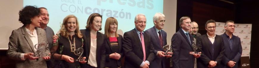 Fundación Cáritas Chavicar distingue a la FRVS con el 'Premio con Corazón'