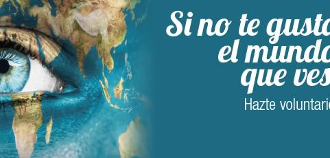 'Si no te gusta el mundo que ves, cámbialo'. Nueva campaña del Gobierno de La Rioja y la FRVS