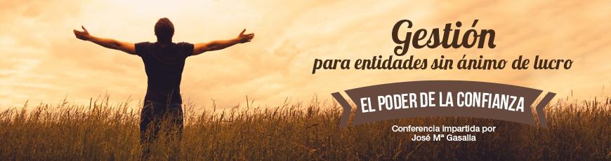 """El 3 de mayo, """"El poder de la confianza"""", charla gratuita de José María Gasalla"""
