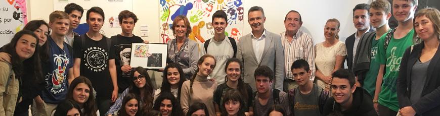"""Más de 700 escolares riojanos participan en el concurso """"La solidaridad tiene un premio"""""""
