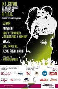 IX Festival benéfico a favor de A.R.A.D.