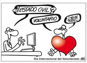 Día del voluntariado