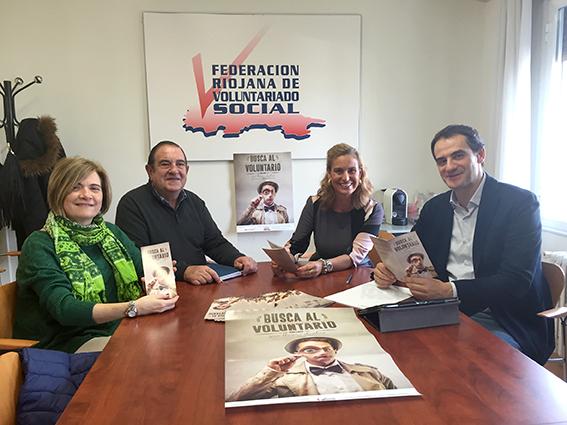 Presentación campaña voluntariado Ayuntamiento de Logroño