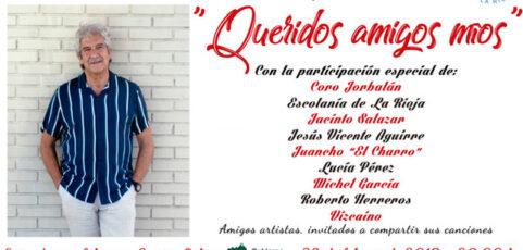 El 23 de febrero, concierto de Chema Purón a beneficio del Banco de Alimentos de La Rioja