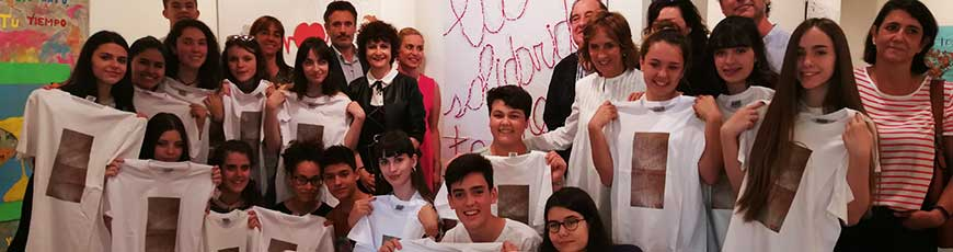 La clase de 4º ESO del Colegio Rey Pastor, vencedora del certamen 'La solidaridad tiene un premio'