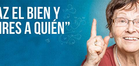 'Haz el bien y no mires a quién', nueva campaña del Ayuntamiento de Logroño y la FRVS