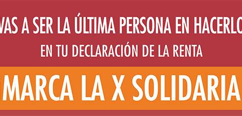 Marcar la «X Solidaria»: un gesto de compromiso y solidaridad ciudadana en tiempos de crisis