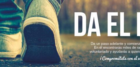 La Federación Riojana de Voluntariado Social y el Gobierno de La Rioja presentan la campaña «Da el paso»
