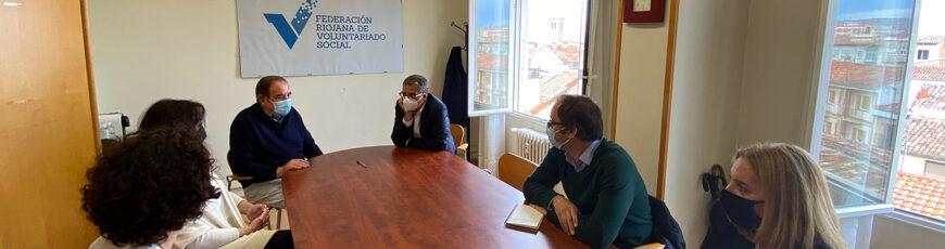 El Gobierno de La Rioja impulsa con más de 70.000 euros acciones de la Federación Riojana de Voluntariado Social